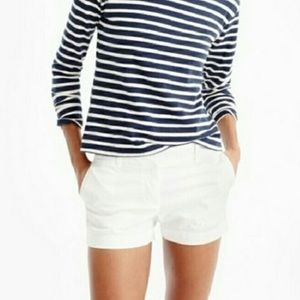 JCrew white cotton chino shirt 4